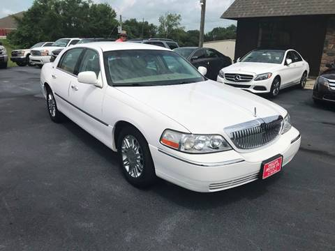 2009 Lincoln Town Car for sale in Haleyville, AL