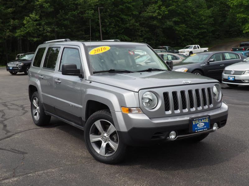 2016 Jeep Patriot 4x4 High Altitude 4dr SUV In South Berwick