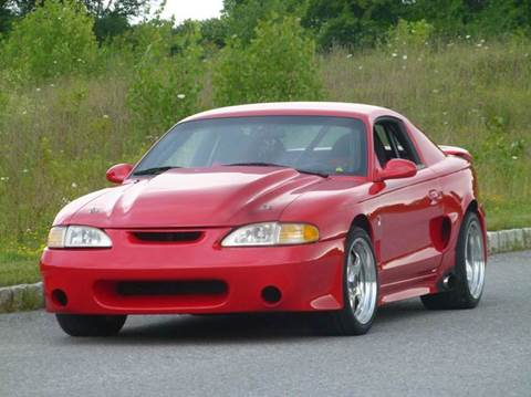 1995 Ford Mustang SVT Cobra for sale at R & R AUTO SALES in Poughkeepsie NY