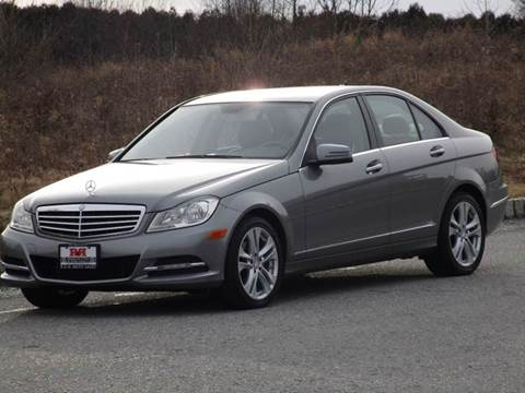 2012 Mercedes-Benz C-Class for sale at R & R AUTO SALES in Poughkeepsie NY