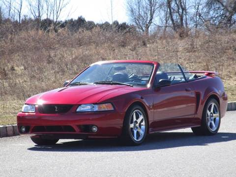2001 Ford Mustang SVT Cobra for sale at R & R AUTO SALES in Poughkeepsie NY
