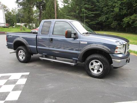 2005 Ford F-250 Super Duty for sale at R & R AUTO SALES in Poughkeepsie NY