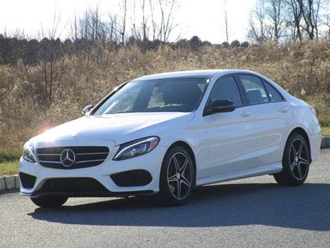 2016 Mercedes-Benz C-Class for sale at R & R AUTO SALES in Poughkeepsie NY