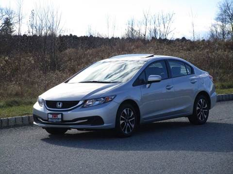 2014 Honda Civic for sale at R & R AUTO SALES in Poughkeepsie NY