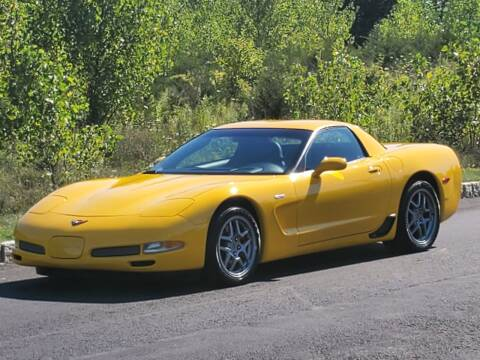 2004 Chevrolet Corvette for sale at R & R AUTO SALES in Poughkeepsie NY