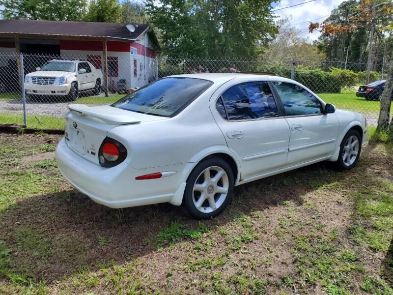 2001 Nissan Maxima GLE 4dr Sedan - Jacksonville FL