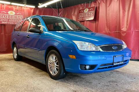 2007 Ford Focus for sale at Roberts Auto Services in Latham NY