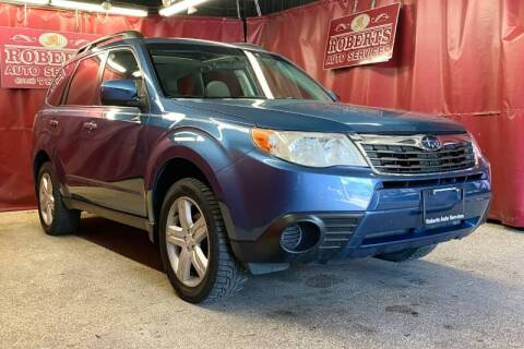 2010 Subaru Forester for sale at Roberts Auto Services in Latham NY