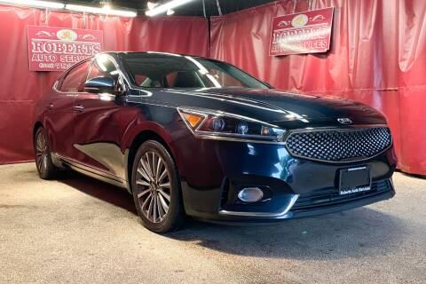 2017 Kia Cadenza for sale at Roberts Auto Services in Latham NY