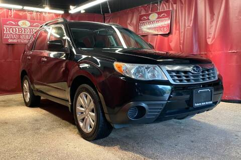 2012 Subaru Forester for sale at Roberts Auto Services in Latham NY
