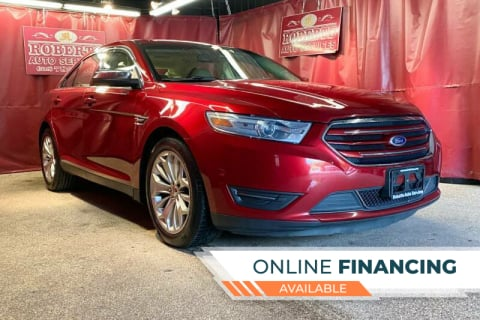 2013 Ford Taurus for sale at Roberts Auto Services in Latham NY