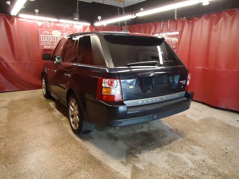 2008 Land Rover Range Rover Sport 4x4 HSE 4dr SUV - Latham NY