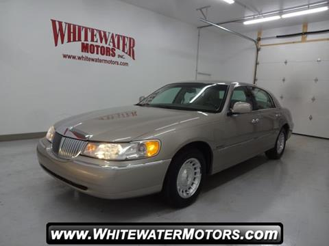 1999 lincoln town car for sale for Whitewater motors inc west harrison in