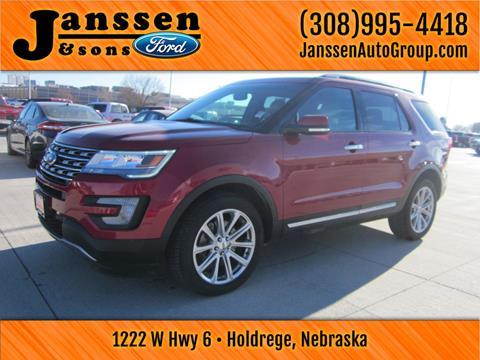 Janssen Ford Holdrege >> Used Ford Explorer For Sale in Holdrege, NE - Carsforsale.com