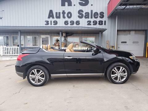 2011 Nissan Murano CrossCabriolet for sale at R S Auto Sales Inc. in Lockridge IA