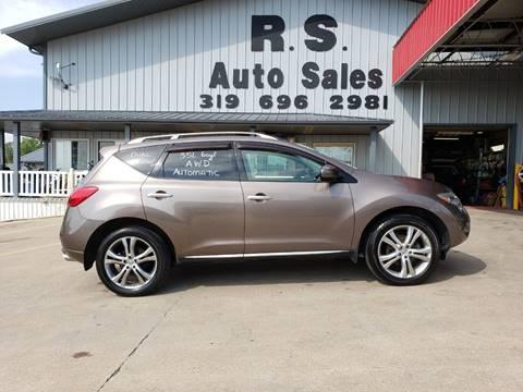 2009 Nissan Murano LE for sale at R S Auto Sales Inc. in Lockridge IA