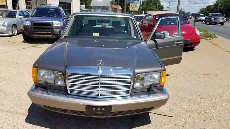 1991 Mercedes-Benz 420-Class for sale at PRESTIGE MOTORS in Fredericksburg VA