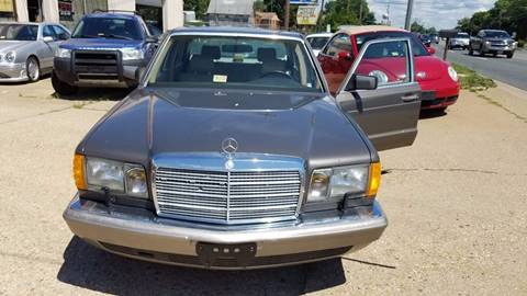 1991 Mercedes-Benz 420-Class for sale at PRESTIGE MOTORS in Fredericksburg VA