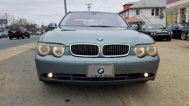 2003 BMW 7 Series for sale at PRESTIGE MOTORS in Fredericksburg VA