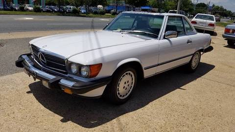 1989 Mercedes-Benz 560-Class for sale at PRESTIGE MOTORS in Fredericksburg VA
