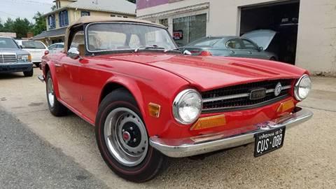 1972 Triumph TR6 for sale at PRESTIGE MOTORS in Fredericksburg VA