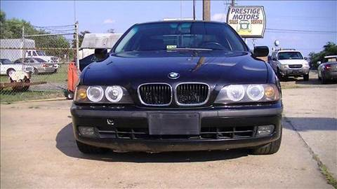 1999 BMW 5 Series for sale at PRESTIGE MOTORS in Fredericksburg VA