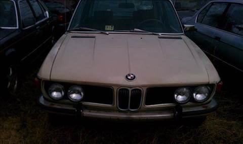 1972 BMW 5 Series for sale at PRESTIGE MOTORS in Fredericksburg VA
