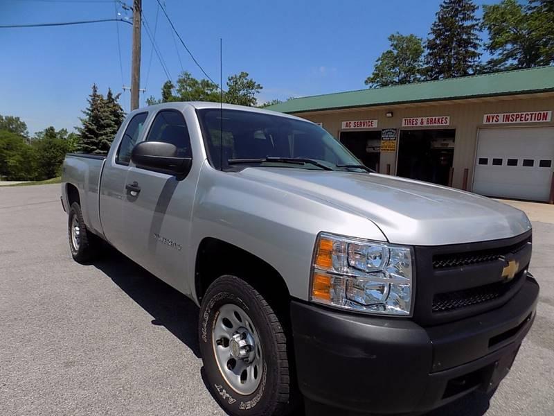 2012 Chevrolet Silverado 1500 4x4 Work Truck 4dr Extended Cab 6.5 ft. SB - Akron NY