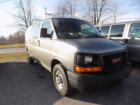 2008 GMC Savana Cargo for sale at SUMMIT TRUCK & AUTO INC in Akron NY