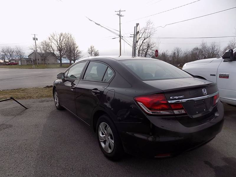 2013 Honda Civic LX 4dr Sedan 5A - Akron NY