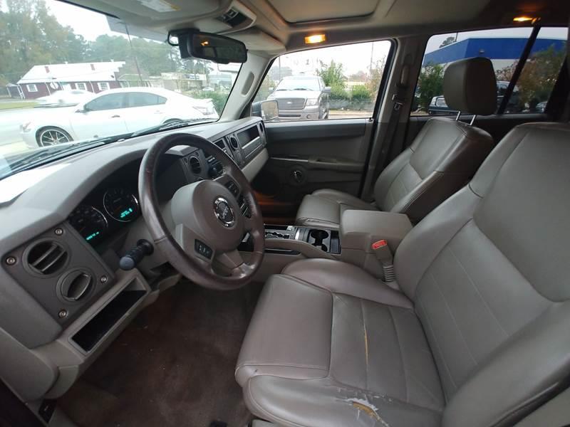 2006 Jeep Commander 4dr Suv 4wd In Smithfield Nc Smithfield Auto
