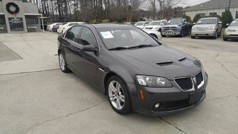 2009 pontiac g8 for sale in smithfield nc. Black Bedroom Furniture Sets. Home Design Ideas