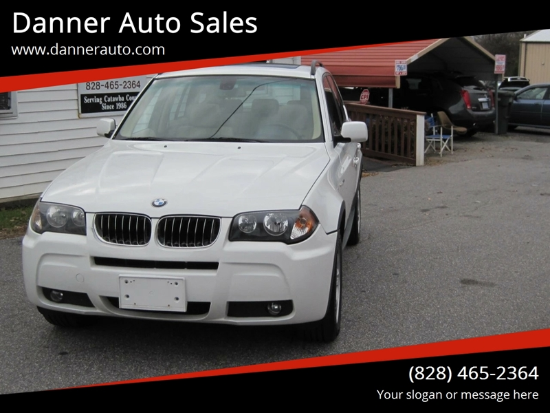 Bmw Of Newton >> 2006 Bmw X3 Awd 3 0i 4dr Suv In Newton Nc Danner Auto Sales