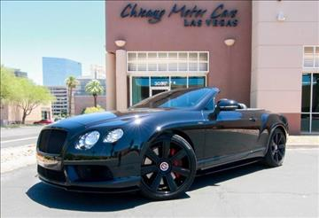 2014 Bentley Continental GTC V8 S for sale in West Chicago, IL