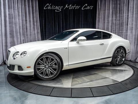 2014 Bentley Continental Gt Speed For Sale In Carrollton Tx