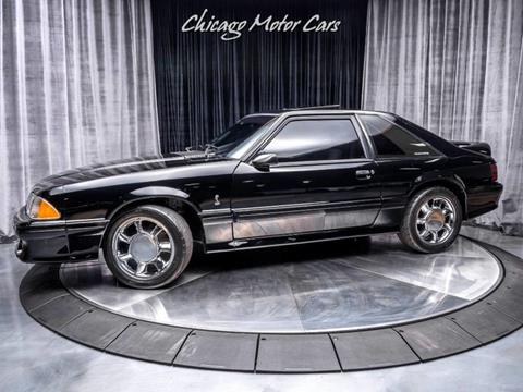 used 1993 ford mustang for sale carsforsale com® 1969 Ford Mustang 1993 ford mustang svt cobra for sale in west chicago, il