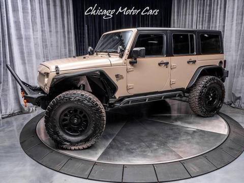 2016 Jeep Wrangler Unlimited for sale in West Chicago, IL