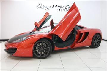 2012 McLaren MP4-12C for sale in West Chicago, IL