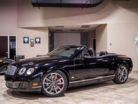 2011 Bentley Continental GTC Speed for sale in West Chicago, IL