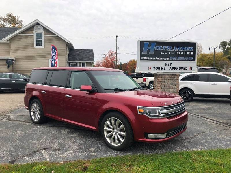 Ford Flex Awd Limited Dr Crossover W Ecoboost Allendale Mi