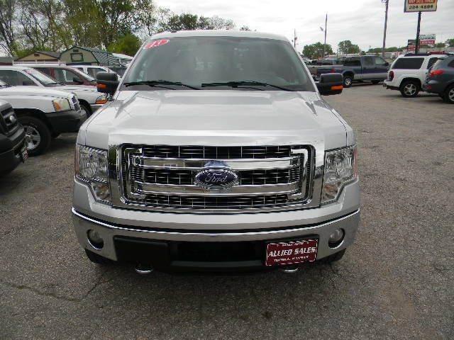 2013 Ford F-150 4x4 XLT 4dr SuperCrew Styleside 5.5 ft. SB - Topeka KS