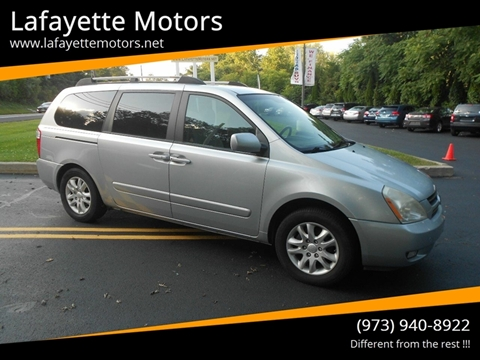 2006 Kia Sedona for sale at Lafayette Motors 2 in Andover NJ