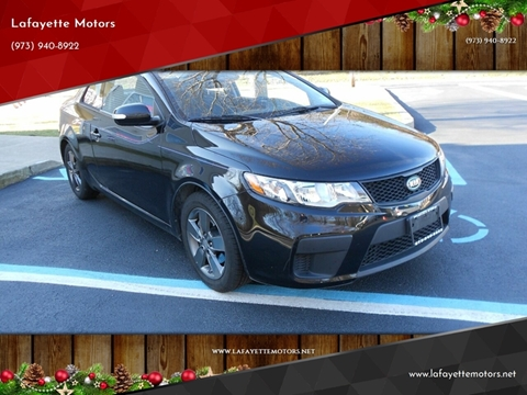 2010 Kia Forte Koup for sale at Lafayette Motors 2 in Andover NJ