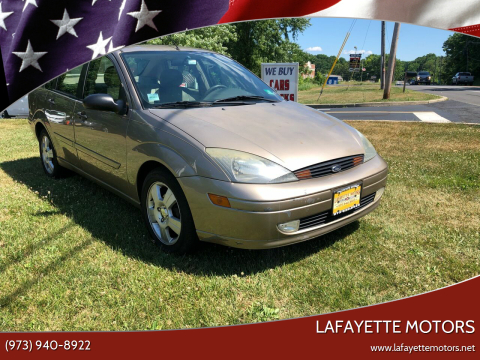2004 Ford Focus for sale at Lafayette Motors 2 in Andover NJ