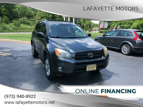 2008 Toyota RAV4 for sale at Lafayette Motors 2 in Andover NJ