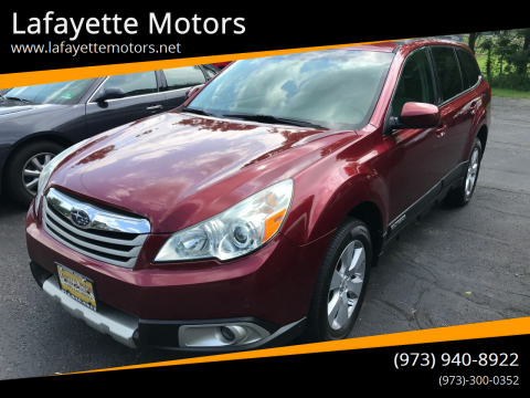 2011 Subaru Outback for sale at Lafayette Motors in Lafayette NJ