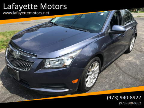 2014 Chevrolet Cruze for sale at Lafayette Motors in Lafayette NJ