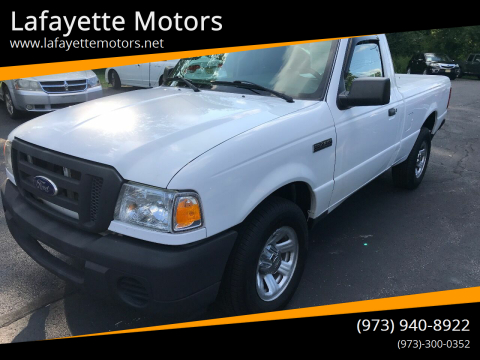 2010 Ford Ranger for sale at Lafayette Motors in Lafayette NJ