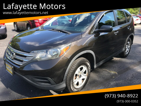 2013 Honda CR-V for sale at Lafayette Motors in Lafayette NJ