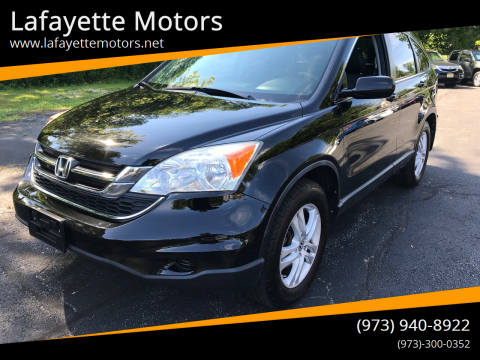 2010 Honda CR-V for sale at Lafayette Motors in Lafayette NJ